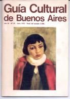 """""""GUIA CULTURAL DE BUENOS AIRES"""" AÑO IX. Nº97, JUNIO DE 1978. ORIGINAL! GECKO. - Culture"""