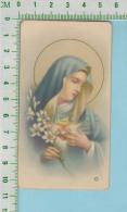 Italy NB-247 ( Sacré Coeur De Marie ) Holy Card Image Pieuse Santini 2 Scan - Images Religieuses