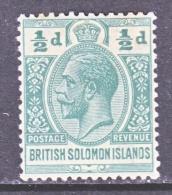 BRITISH  SOLOMON  ISLANDS  43  *  Wmk. 4 - British Solomon Islands (...-1978)
