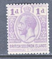 BRITISH  SOLOMON  ISLANDS  45  *  Wmk. 4 - British Solomon Islands (...-1978)