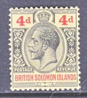 BRITISH  SOLOMON  ISLANDS  48  *  Wmk. 4 - British Solomon Islands (...-1978)
