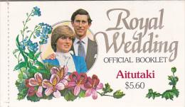 Aitutaki 1981 Royal Wedding Booklet - Aitutaki