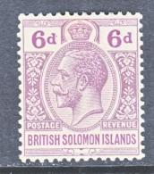 BRITISH  SOLOMON  ISLANDS  51  *  Wmk. 4 - British Solomon Islands (...-1978)