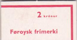 Faroe Islands 1975 Definitive Booklet - Faroe Islands