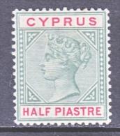 BRITISH  CYPRUS  28   *  Wmk 2 - Cyprus (...-1960)