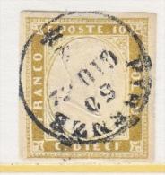 SARDINIA  11 B  OLIVE  BISTER   (o) - Sardinia