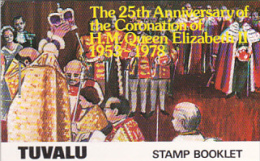 Tuvalu 1978 25th Anniversary Of Coronation Booklet  MNH - Tuvalu