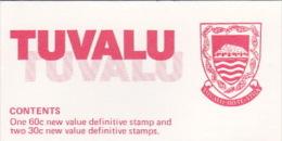 Tuvalu  Crafts Booklet MNH - Tuvalu