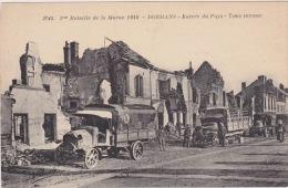 Dormans - Bataille De La Marne 1918. Soldiers And Trucks. - Dormans