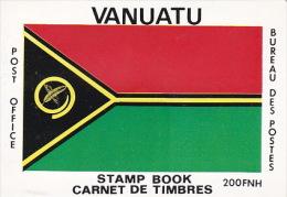 Vanuatu 1980 Definitive  Booklet - Vanuatu (1980-...)