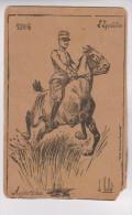 CPA ILLUSTREE VALLET; L EQUITATION En 1904!! - Vallet, L.