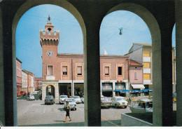 Italy Argenta Piazza Garibaldi Old Fiat Cars 10 - Ferrara