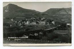CPSM  07  :  ST MARTIN LE SUPERIEUR   Panorama    1954      VOIR  DESCRIPTIF   §§§§§ - France