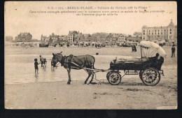BERCK - PLAGE . Voiture De Malade Sur La Plage . - Berck