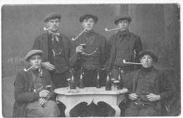 Boechout:Jonge Boechouchtenaren Met De Pijp.(fotokaart Leon Van Den Broeck Uit Heist Op Den Berg. - Boechout