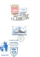 A PH JEANNE D´ARC En Escale à St MALO - DERNIERE CAMPAGNE - Sur Bristol - Posta Marittima