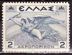 GREECE 1935 Airmail Mythological Issue 2 Dr  Greyblue Vl. A 23 MH - Ongebruikt