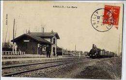 45 - Amilly - LA GARE - Amilly