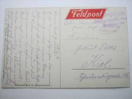 1916, STRASSBURG,  Censure , Carte Militaire - Alsace-Lorraine