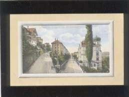 St Gallen , Berneck Und Felsenstrasse édit. G.metz N° L1 29186 Couleur - SG St. Gall