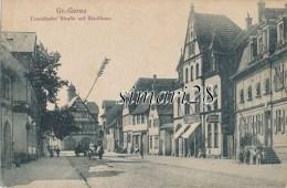 Gr. GERAU - FRANKFURTER STRASSE MIT STADHAUS - Gross-Gerau