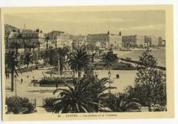 CANNES. - Les Jardins Et La Croisette. - Cannes