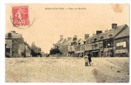 TESSY - SUR - VIRE . Place Du Marché . - Frankreich