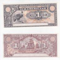 ECUADOR BANKNOTE 1 SUCRE PICK S251 UNC 1920 - Ecuador