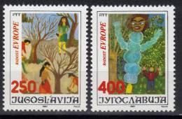 Yugoslavia,Joy Of Europe 1987.,MNH - 1945-1992 Socialist Federal Republic Of Yugoslavia