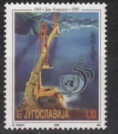 Yugoslavia,50 Years Of UN 1995.,MNH - 1992-2003 Federal Republic Of Yugoslavia
