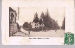 MORTAGNE . Avenue De La Gare . - Mortagne Au Perche