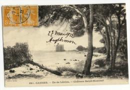CANNES. - Ile De Lérins. - Château Saint-Honorat - Cannes