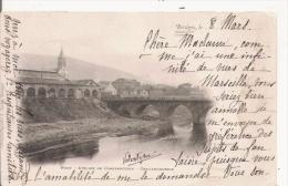 BESSEGES PONT ATELIER DE CONSTRUCTION . CHAUDRONNERIE 1902 - Bessèges