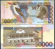 Banknote S.Tome And Principe 50000 Dobras 2010 UNC - São Tomé U. Príncipe