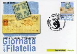 Italia 2013 Annullo Romafil Mostra Sul Fumetto: DIABOLIK - Fumetti