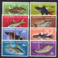Thailand 1968 Michel 517/24 Mnh FISH. - Thailand