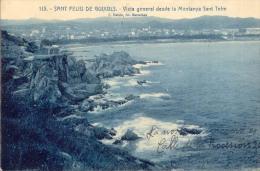 Sant Feliu De Guixols. Vista General Desde La Montanya Sant Telm. - Gerona