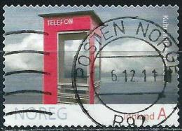 Norvège 2009 - Ancienne Cabine Téléphonique ( YT 1629 ) - Gebruikt