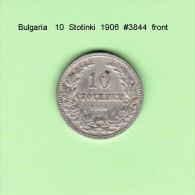 BULGARIA    10  STOTINKI  1906   (KM # 25) - Bulgaria
