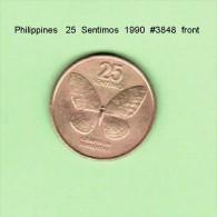 PHILIPPINES    25  SENTIMOS  1990   (KM # 241.1) - Philippines