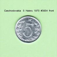 CZECHOSLOVAKIA    5  HALERU  1970   (KM # 53) - Czechoslovakia