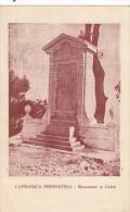 Capranica Prenestina-guadagnolo-monumento Ai Caduti-viaggiata 1934 - Italia