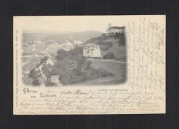 Slovenia PPC Ljubljana Schlossberg 1897 - Slowenien