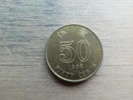 Hon Kong  50 Cents  1998  Km68 - Hong Kong