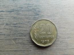 Argentine  20 Centavos  1973  Km67 - Argentina