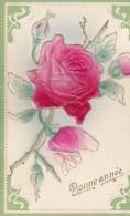 FLEURS/ROSES/Gaufrée/ Réf:C1710 - Fleurs, Plantes & Arbres