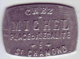 Monnaie De Nécessité - LOIRE 42 - St Chamond - Chez Michel - 12 1/2c - Monetari / Di Necessità