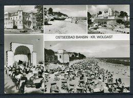 Ostseebad Bansin / Mehrbildkarte S/w - Gel. 1981 - DDR - Bild Und Heimat  738/80   01 01 11 917 - Usedom