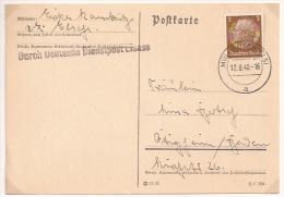 Pa139 - MULHAUSEN - 12 Aout 1940 - Date Précoce - MULHOUSE - Haut Rhin - - Alsace Lorraine