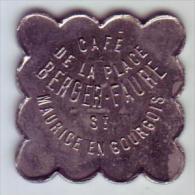 Monnaie De Nécessité - LOIRE 42 - St Maurice En Gourgois - Café De La Place Berger Faure - 12 1/2c - Monétaires / De Nécessité